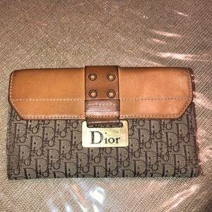 Authentic vintage Dior wallet